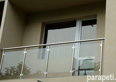 парапет за тераса със стъкло 14
