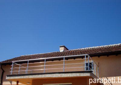 парапет за тераса с тръбен пълнеж 5