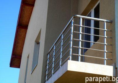 парапет за тераса с тръбен пълнеж 6