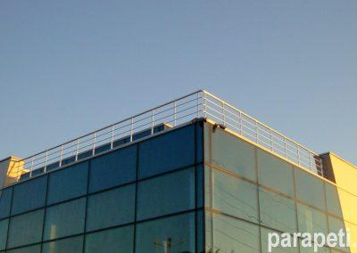парапет за тераса с тръбен пълнеж 7