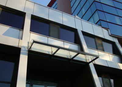 стъклена козирка 4555
