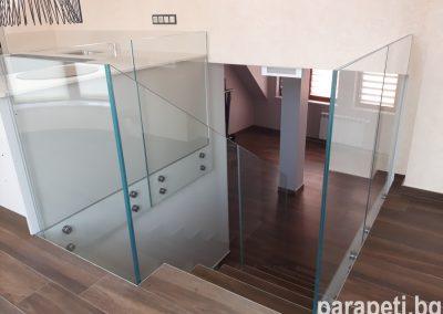 стъклен парапет 2